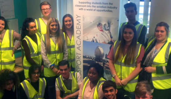 Swissport link up with Leicester College