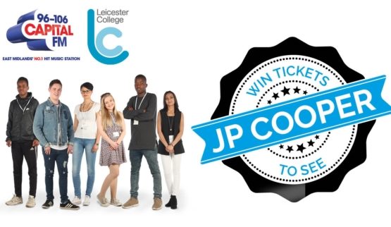 Want to win tickets to see JP Cooper?