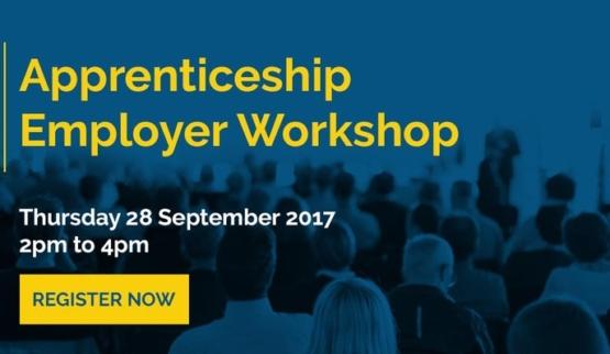 Apprenticeship employer workshop - 28 Sept…