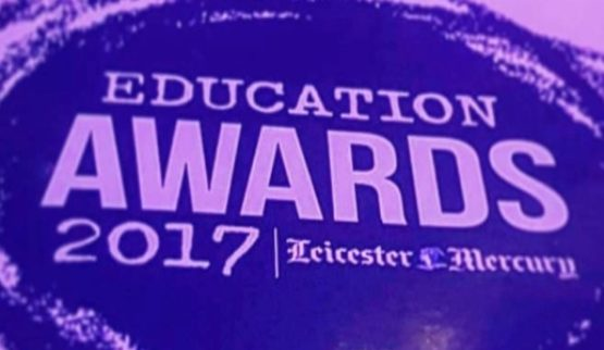 Two winners at the Leicester Mercury Educa…