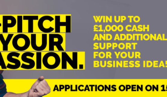 Pitch Your Passion – WIN £1000 with you…