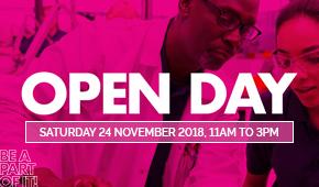 Open day 24 November