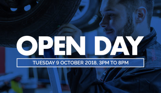 Open Day 9 October 2018