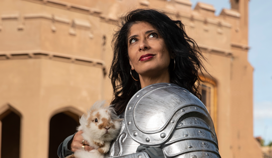 Shappi Khorsandi – Skittish Warrior …