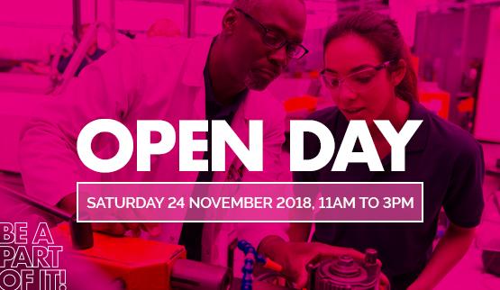 Open day November 24 2018