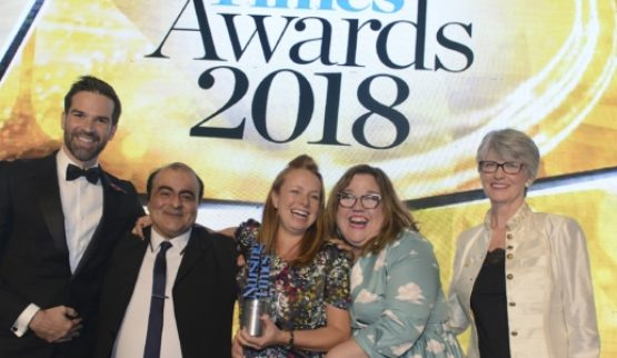 Nursing times Award 2018