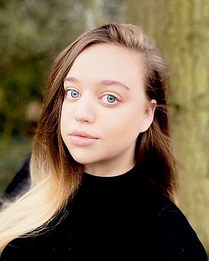 Beth headshot - Online showcase BA (Hons) students TAKEOVER.
