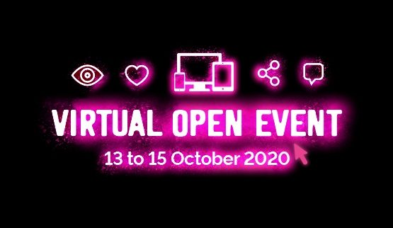Virtual Open Event 13-15 October 2020
