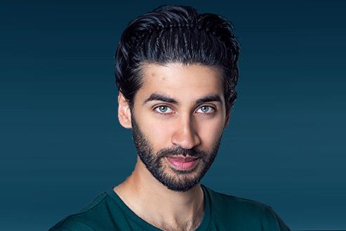 Bearded portrait of a man