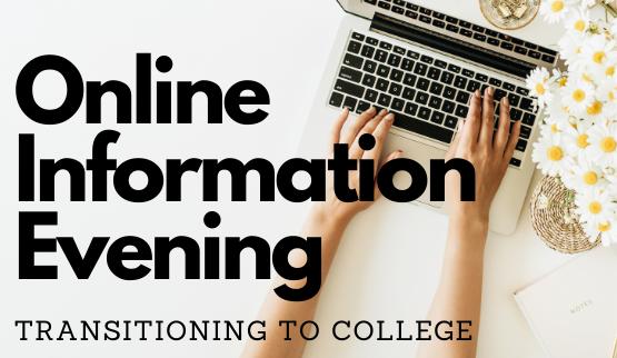 Online Information Evening - Transitioning…