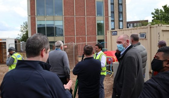 Leicester College staff go 'back to scho…