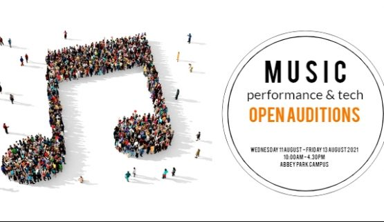 Music performance and tech open auditions