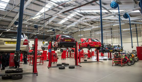 Leicester College offers vehicle repair co…
