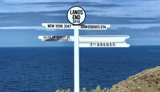 Alan takes on the Land's End to John O�…